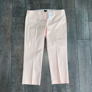 J. Crew City Fit Capri Pants